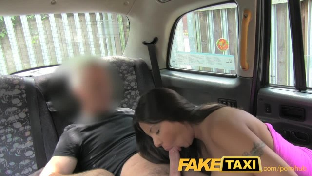 FakeTaxi Sexy American Falls for old Taxi Trick