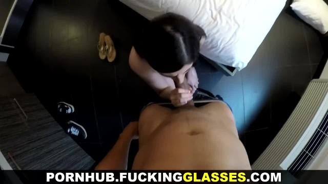 Fucking Glasses - Great Fuck with 18yo Escort