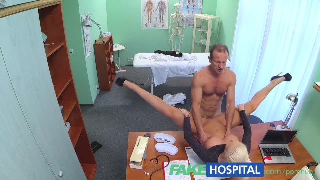 FakeHospital Dirty Doctor Fucks Busty Blonde Porn Star