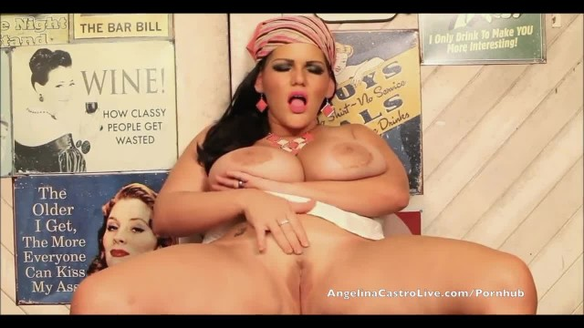 Angelina Castro Squirting Machine!!!