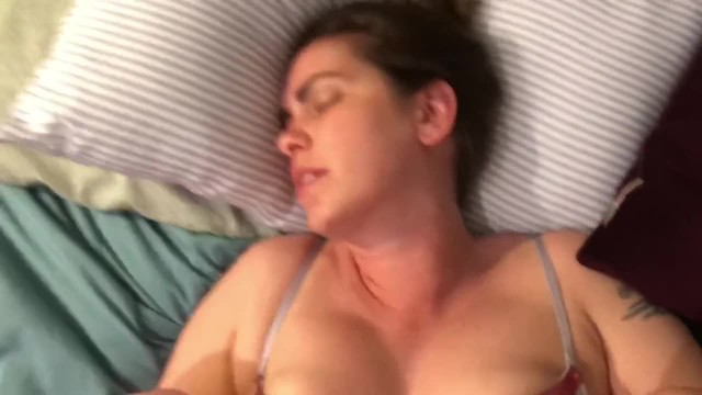 Hot Wife has Real Orgasm and Begs for Teens Cum in her
