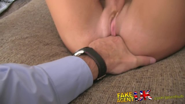 FakeAgentUK Hot Tattood Minx Fooled into Fake Sex Casting