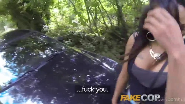 Fake Cop Naughty Sluts get more than Long Arm of the Law