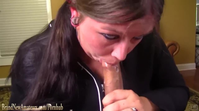 Amateur Casting Slut Sucks Dick Fucks and Swallows at BrandNewAmateurs