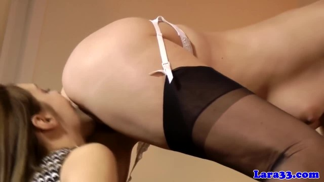Mature British Pussylicking Lesbian in Lingerie