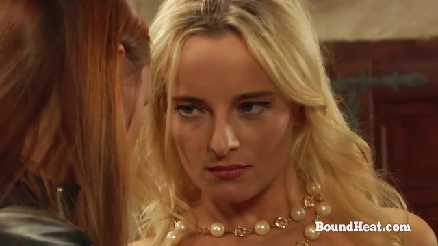 The Education of Erica: two Beautiful Lesbian Slaves Whipped in Bondage