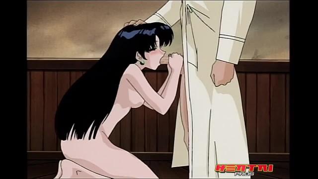 Hentai Pros - Naked Eyes - Anime Teen Sucks Masters Cock