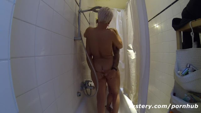 Homemade Lesbian Sex in the Shower - Lustery