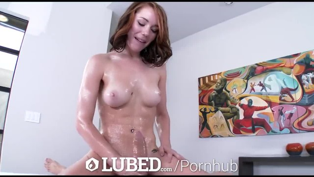 LUBED - Juicy Pussy, Wet Mouth and Shiny Boots with Railyn Ann