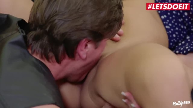 LETSDOEIT - Teen Kinky Brunette Loves her BadBoy Step Daddy