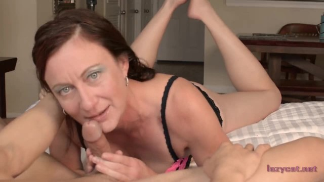 Older Woman Licks your Cock and Sucks the Cum out for you