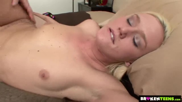 BrokenTeens - Molly Rae Convinces her Stepbrother to Fuck her