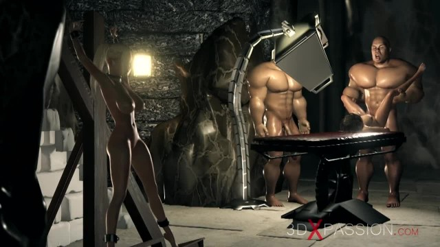 Three Herculeses and Teenage Girl in the Dungeon. Part one