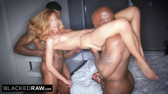 BLACKED RAW Insatiable Threesome Compilation