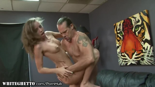 Skinny StepDaughter wants Daddy Dick