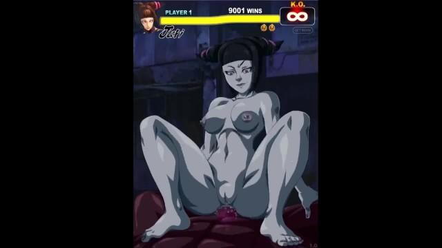 Street Fighter Porn Juri Han Anal