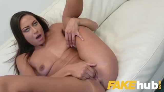 Fake Agent Hot Desk Fuck with Tanned Perfect Ass Euro Babe Cassie Del Isla