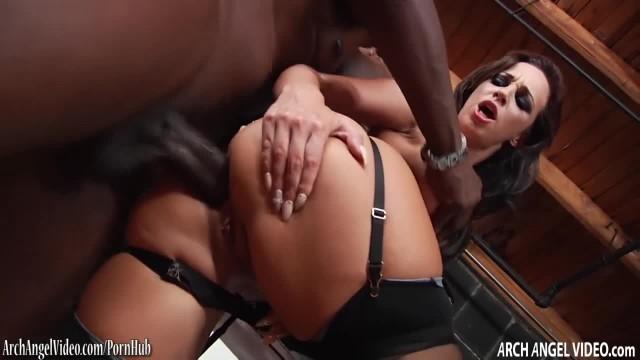 Jada Stevens getting Big Black Cock in her Ass