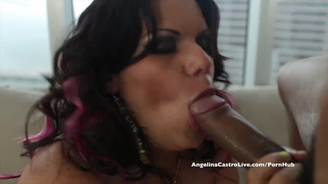 Big Titted Angelina Castro Desperate for Spanish Cock