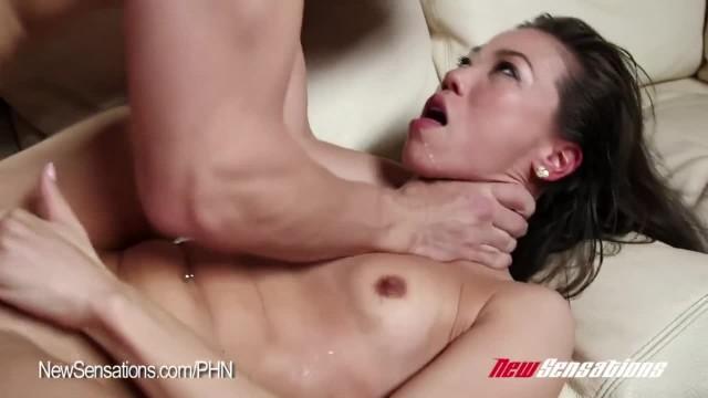 Hotwife Kalina Ryu Shared with Huge Cock