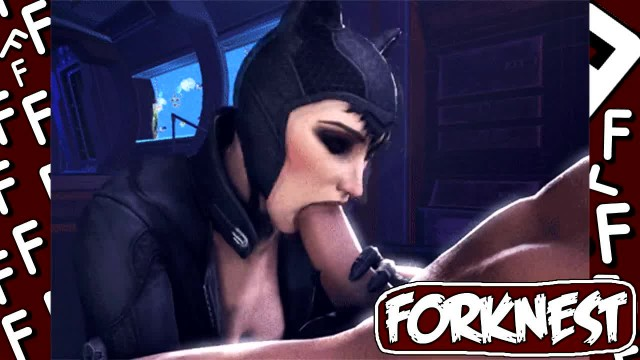 Kinky Anime Mix with Horny Catwoman