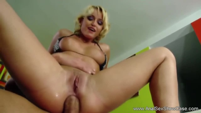 Arse Eating and Gaping Asshole Fuck with Kinky Blonde
