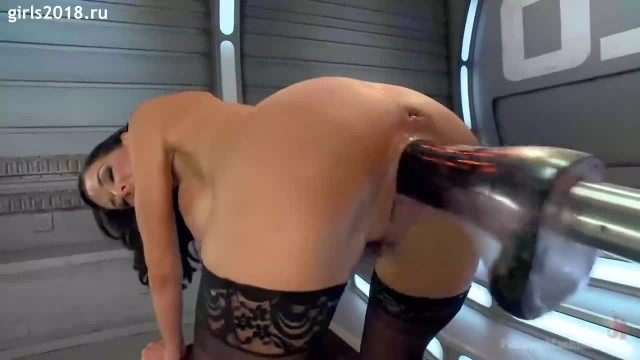Jet Orgasm from Fucking Sex Machines