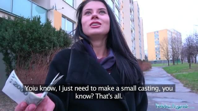 Public Agent Big Dick Fucks Sexy Russians Perfect Body for Cash