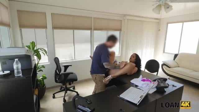 LOAN4K. Flat Rent is Higher than Income so why Girl Fucks for Loan