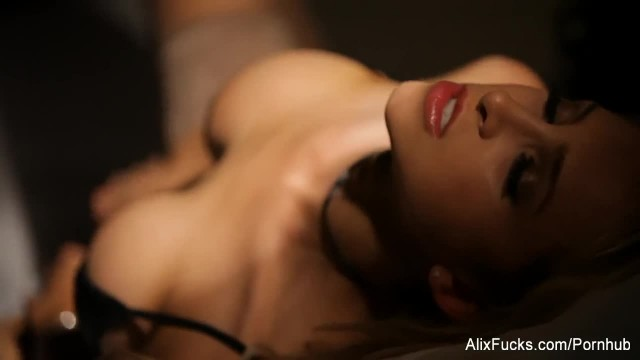 Super Sexy Alix Takes Selfies and Masturbates