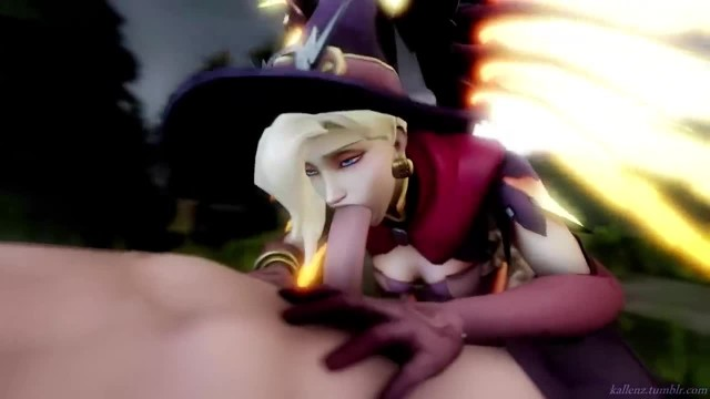 Overwatch Full HD [60FPS] - Fap of the Game 3 (witch Mercy Edition)