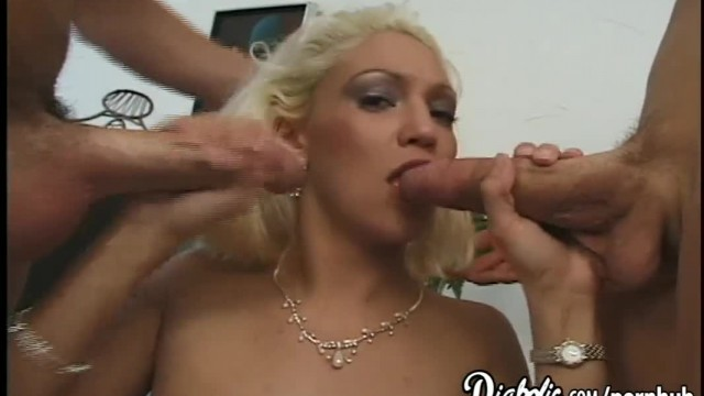 Blonde Babe Sky gets Pushed through her Limit