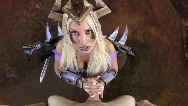 Bridgette B is your Warlock Mistress and she is Commanding you to Cum