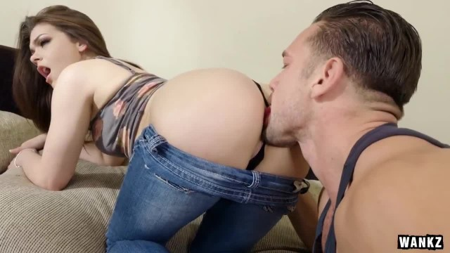 Thick Teen Kimber Woods Fucked with Panties still on
