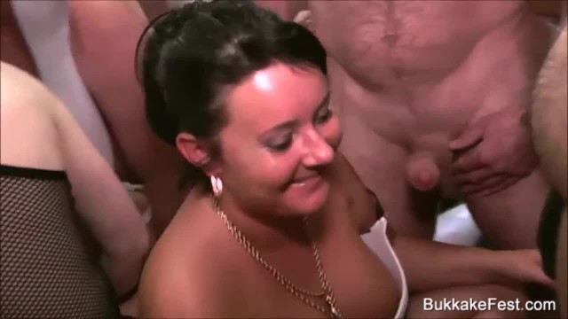 Triple MILF Sluts Loving the Gangbang Attention