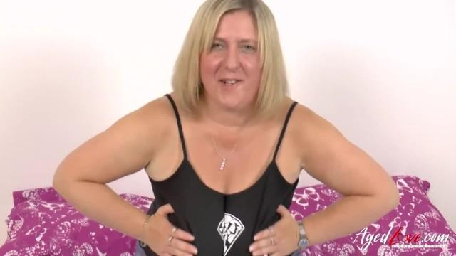 AgedLovE Hardcore BBC in Tight Mature Blonde