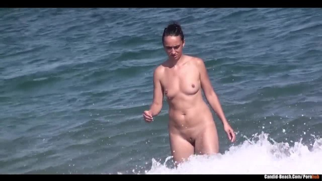 Shaved Pussy Milfs Tanning at Nude Beach Voyeur HD Video