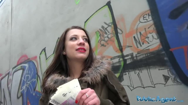Public Agent Cutie Fucked Hard in Abandoned Public Subway