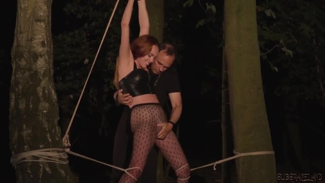 Screaming Orgasm Master vs Fetish Slave Tied up and Fucked