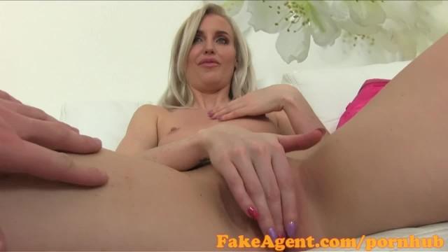 FakeAgent English Babe Fucks in Casting