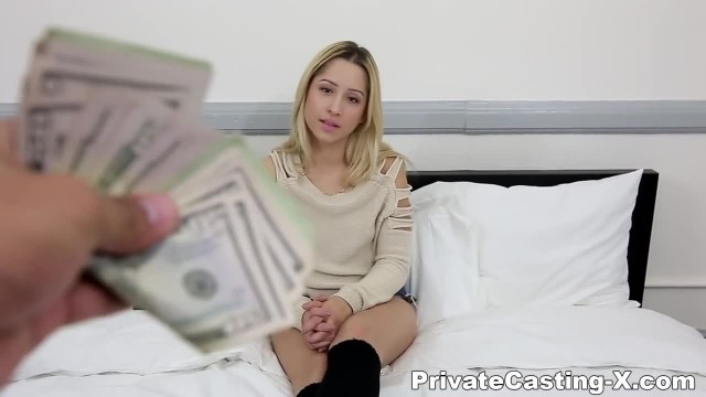 Private Casting X - Hungry for Cash Ready for Cock