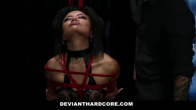 DeviantHardcore - Submissie Asian Teen Dominated by mean Cock