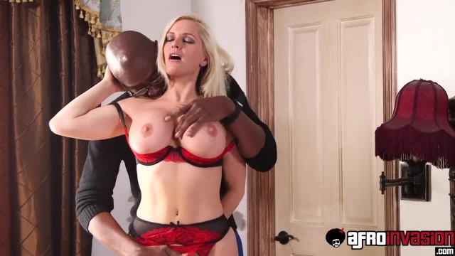 Lingerie Clad Succubi Alena Croft Roughly Ass Fucked by BBC