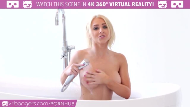 VR Bangers - HOT BLONDE Alix Lynx Cought by Boyfriend Masturbating