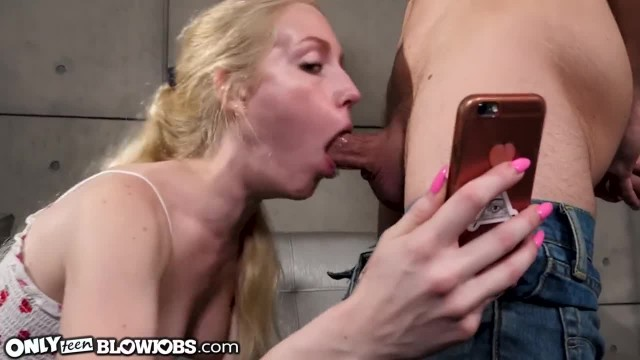 OnlyTeenBlowjobs Don't Text and Suck!