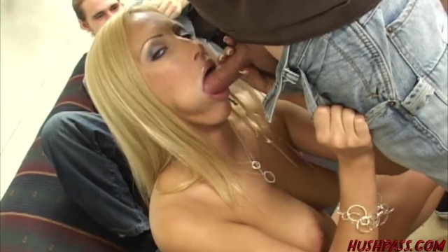 Hot Wife Cassie Young taking Cock while Cuckold Husband Watches