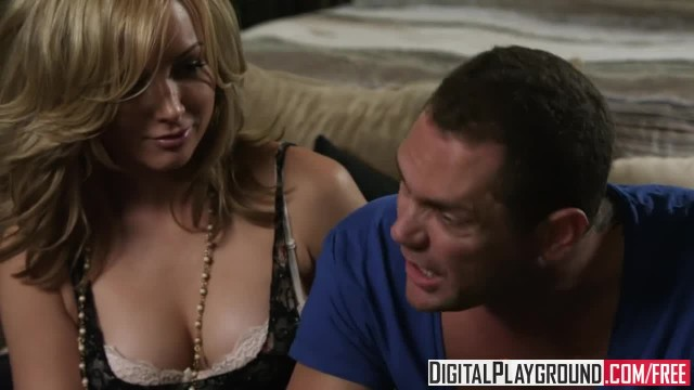 Digital Playground - Hot Blonde Kayden Kross makes her BF a Cuck