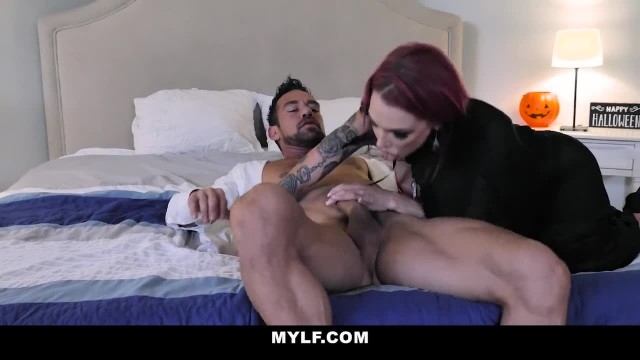 MYLF - Hot Vampire Sucks Fat Cock