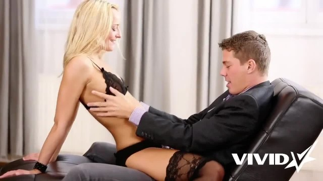 Vivid.com - Smoking Russian Babe Shows up in this Guy's Dream