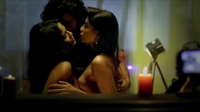 Priyanka Bose, Anangsha Biswas - Sensual Threesome Scene
